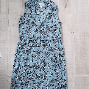 Loft dress with beautiful print all over